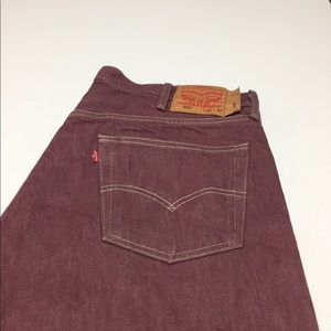Men's 501 Levi's Jeans Big and Tall